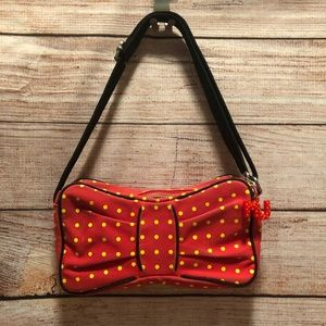Marc Jacobs Red Bow Bag - Perfect for Disney Trip!